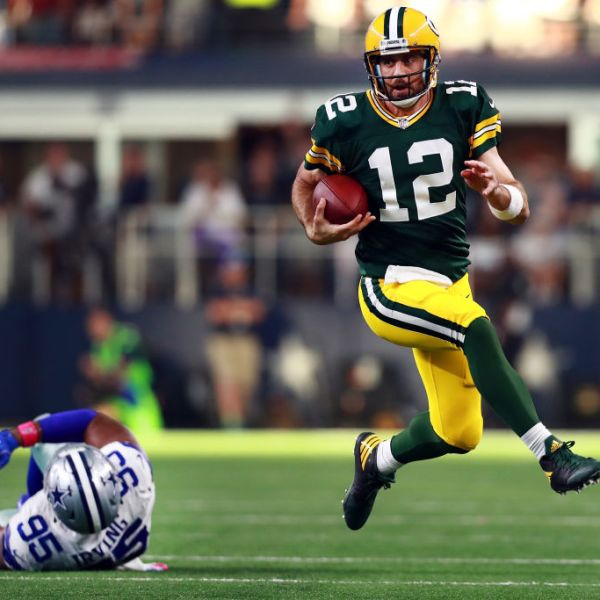 Aaron Rodgers leads Packers past Cowboys