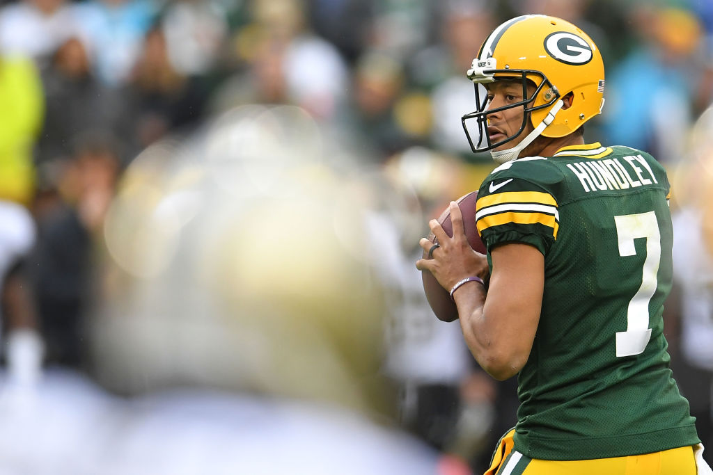 Packers Brett Hundley vs New Orleans