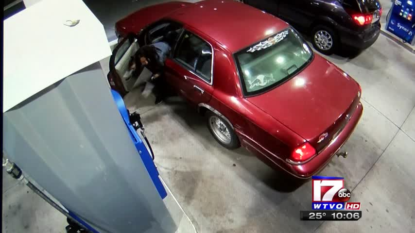 Chiquita Gas Station Looking For Woman Who Ran Over Pump_12395254