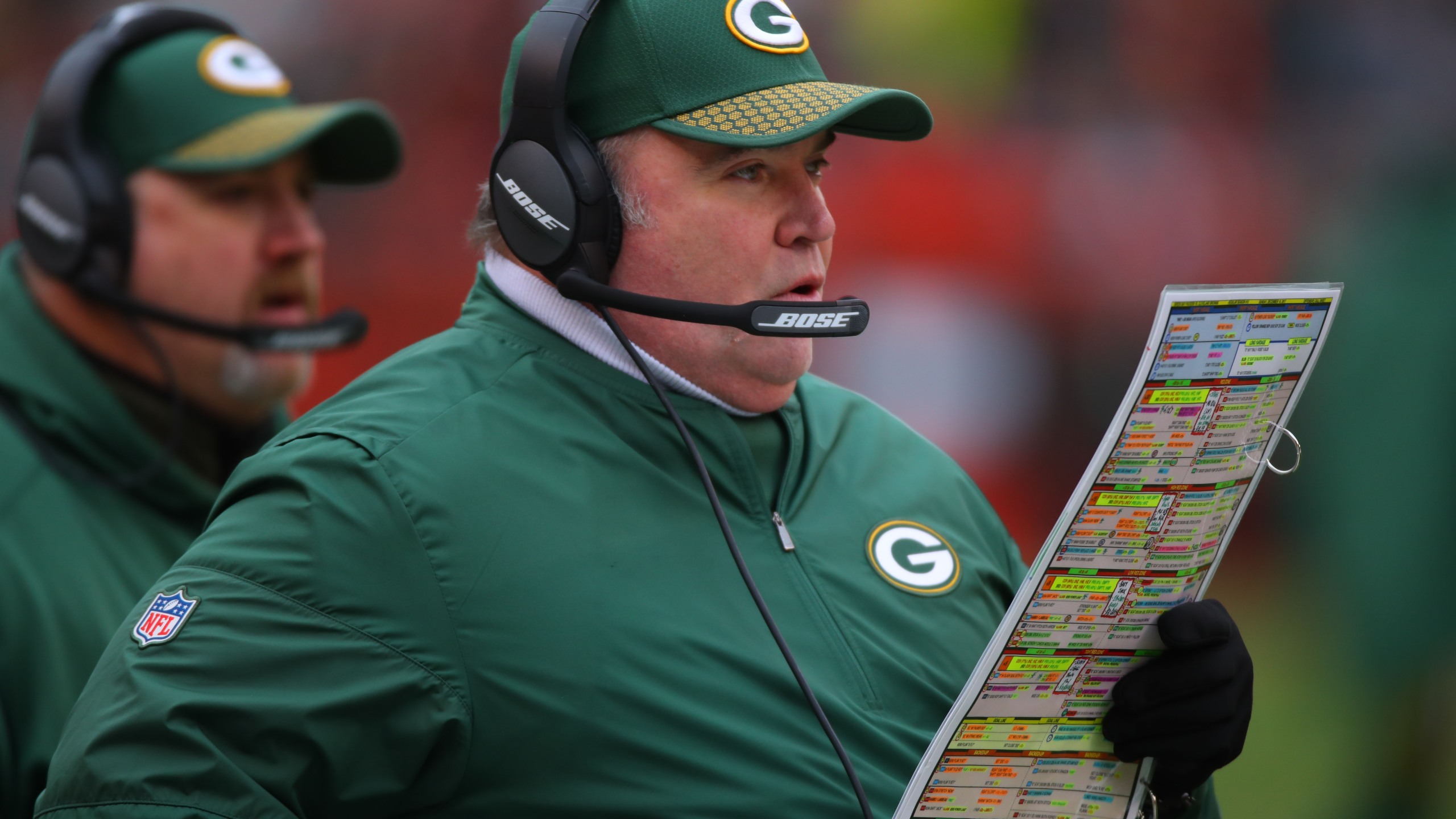 Packers Mike McCarthy vs. Browns