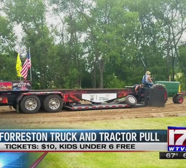 FORRESTON TRACTOR PULL