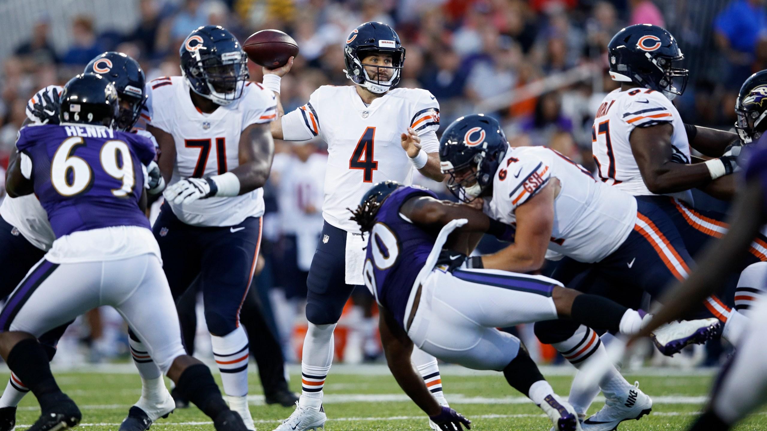 Bears Daniels vs Ravens