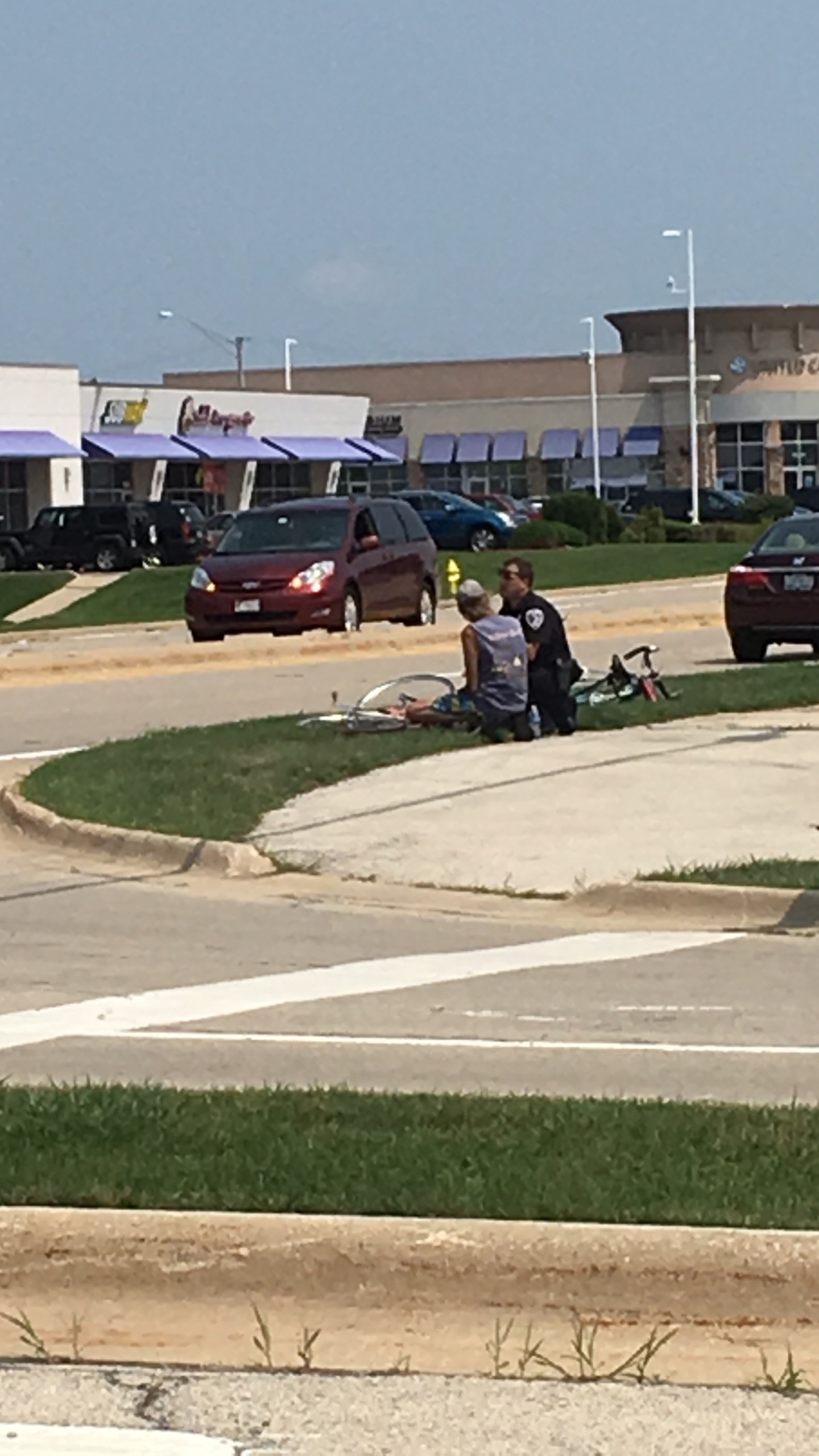 Bicyclist Hit By Pick-Up Truck in Rockford 1