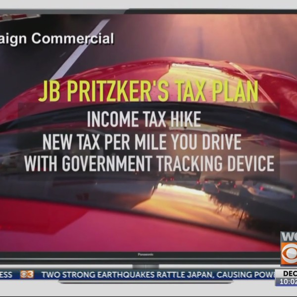 Pritzker floats mileage tax, Rauner hammers him