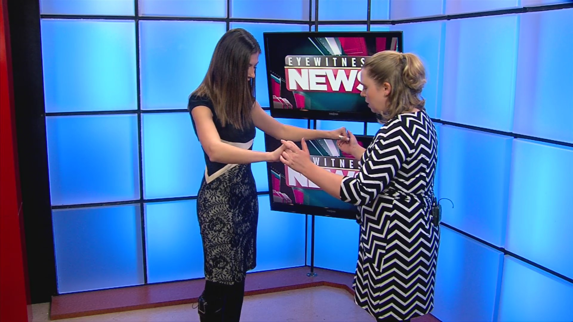 Kathleen Cohen makes her Dancing with Eyewitness News debut