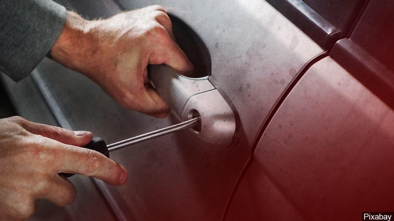 car burglary break in generic