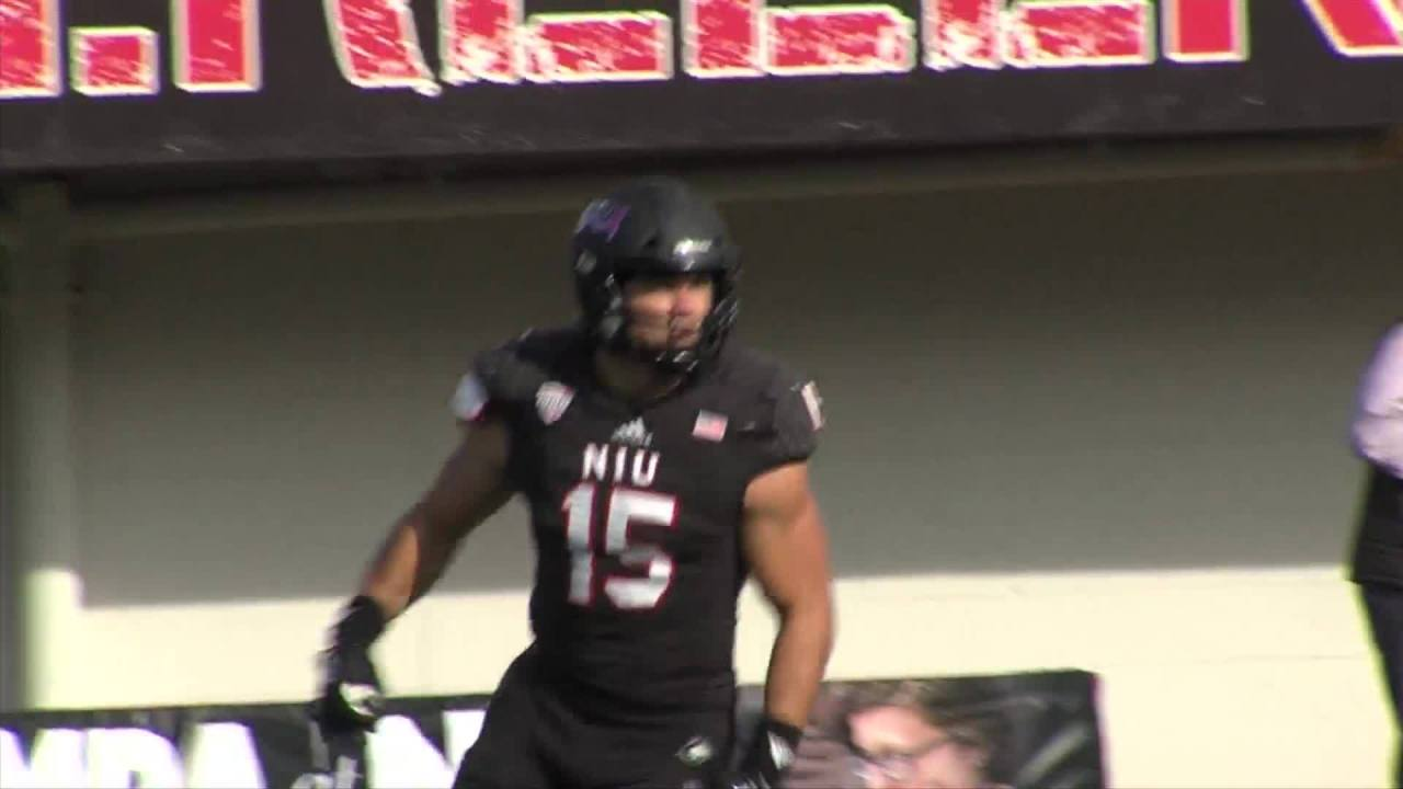 watch 907ad 17758 NIU's Sutton Smith a finalist for the Hendricks Award