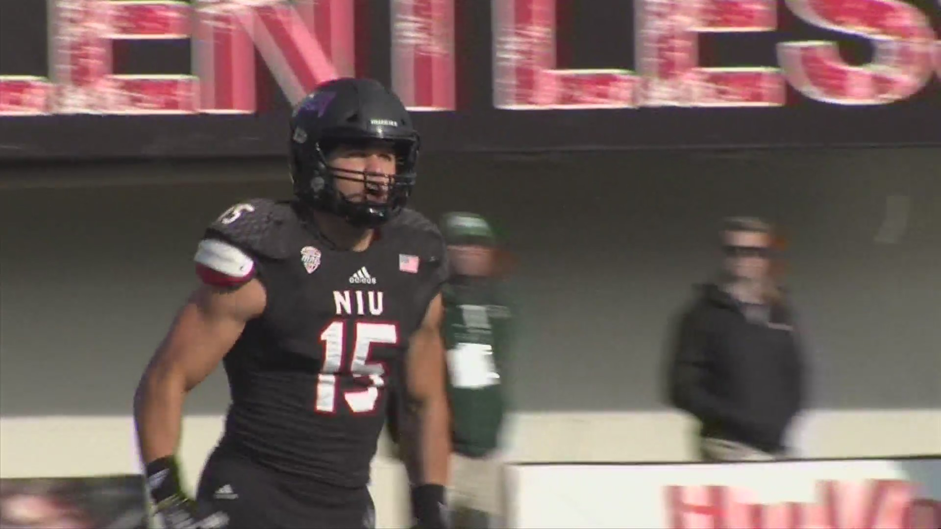 the best attitude e9fba 6c61c NIU defensive end Sutton Smith named AP first team All-American
