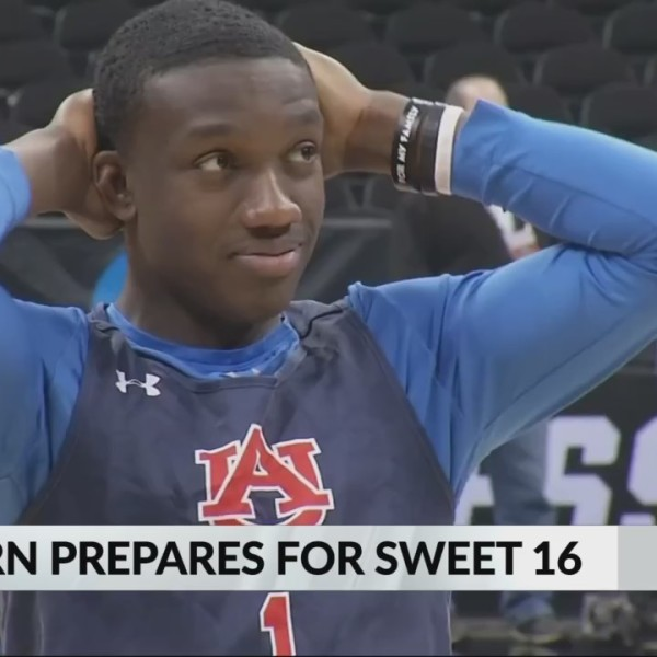 Auburn prepares for Sweet 16
