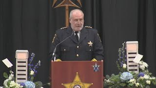 Funeral service for fallen McHenry County Deputy Jacob Keltner