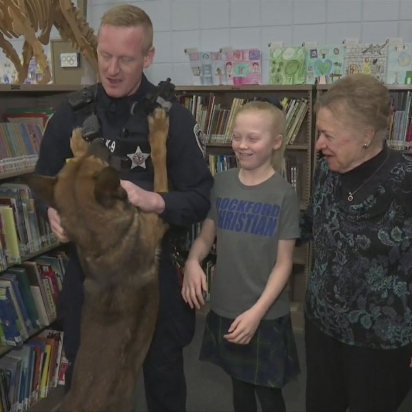 Rockford Christian student sets up fundraiser to buy Rockford PD K-9 a protective vest