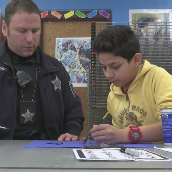 Rolling Green School Resource Officer keeps in tune with students