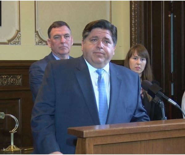 Pritzker scolds Trump's rhetoric after synagogue shooting
