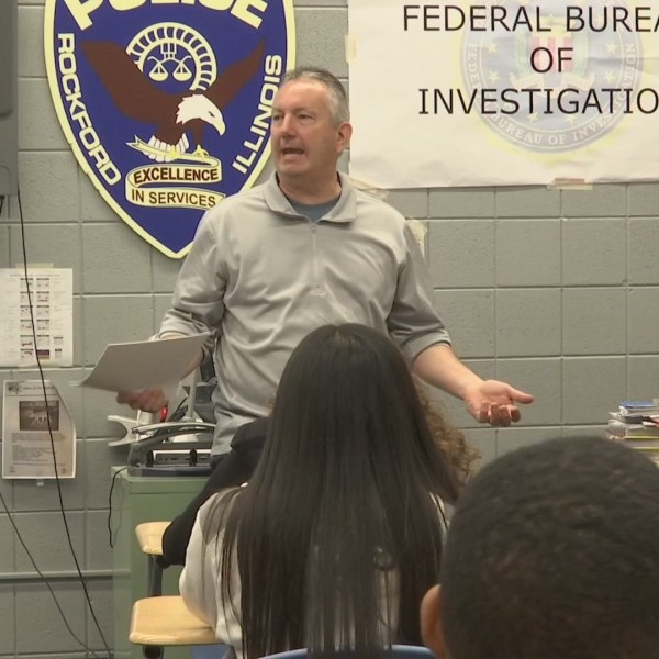 Retired Rockford Police Detective becomes a school teacher