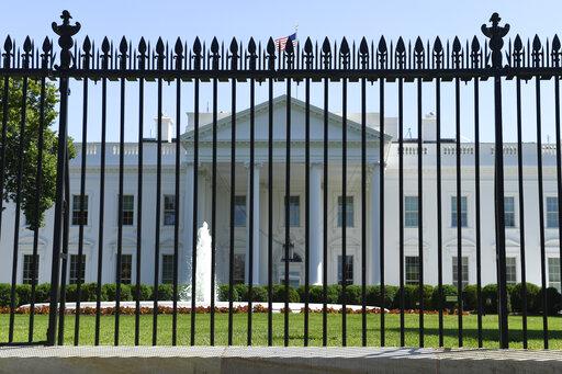White House fence