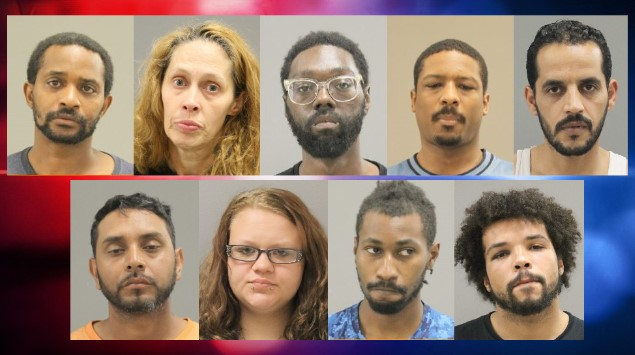 Nine arrested in undercover sex trade sting in Rockford
