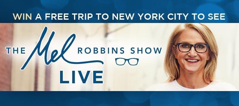 Enter to win Mel Robbins Sweepstakes