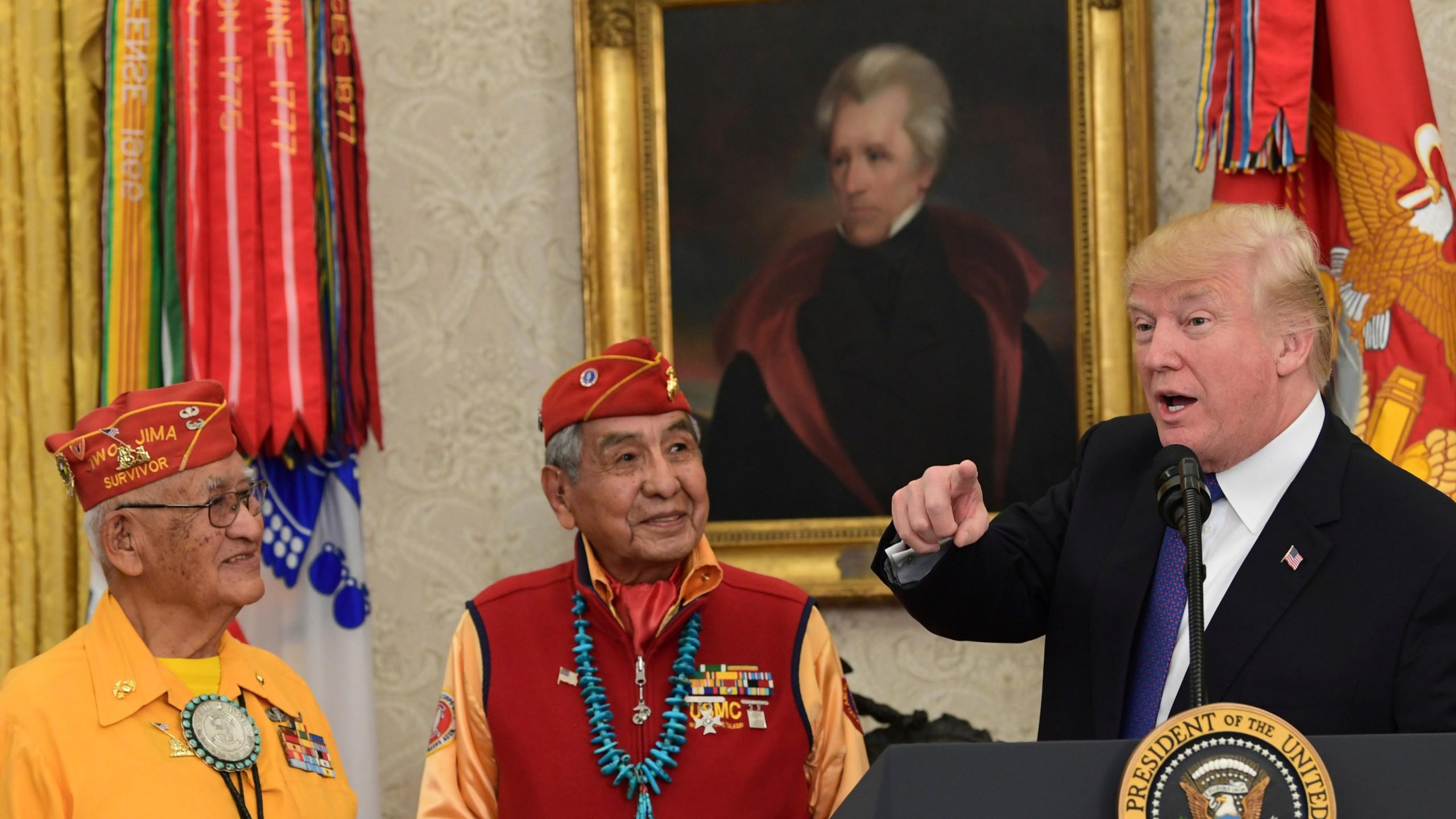 Donald Trump, Thomas Begay, Peter MacDonald