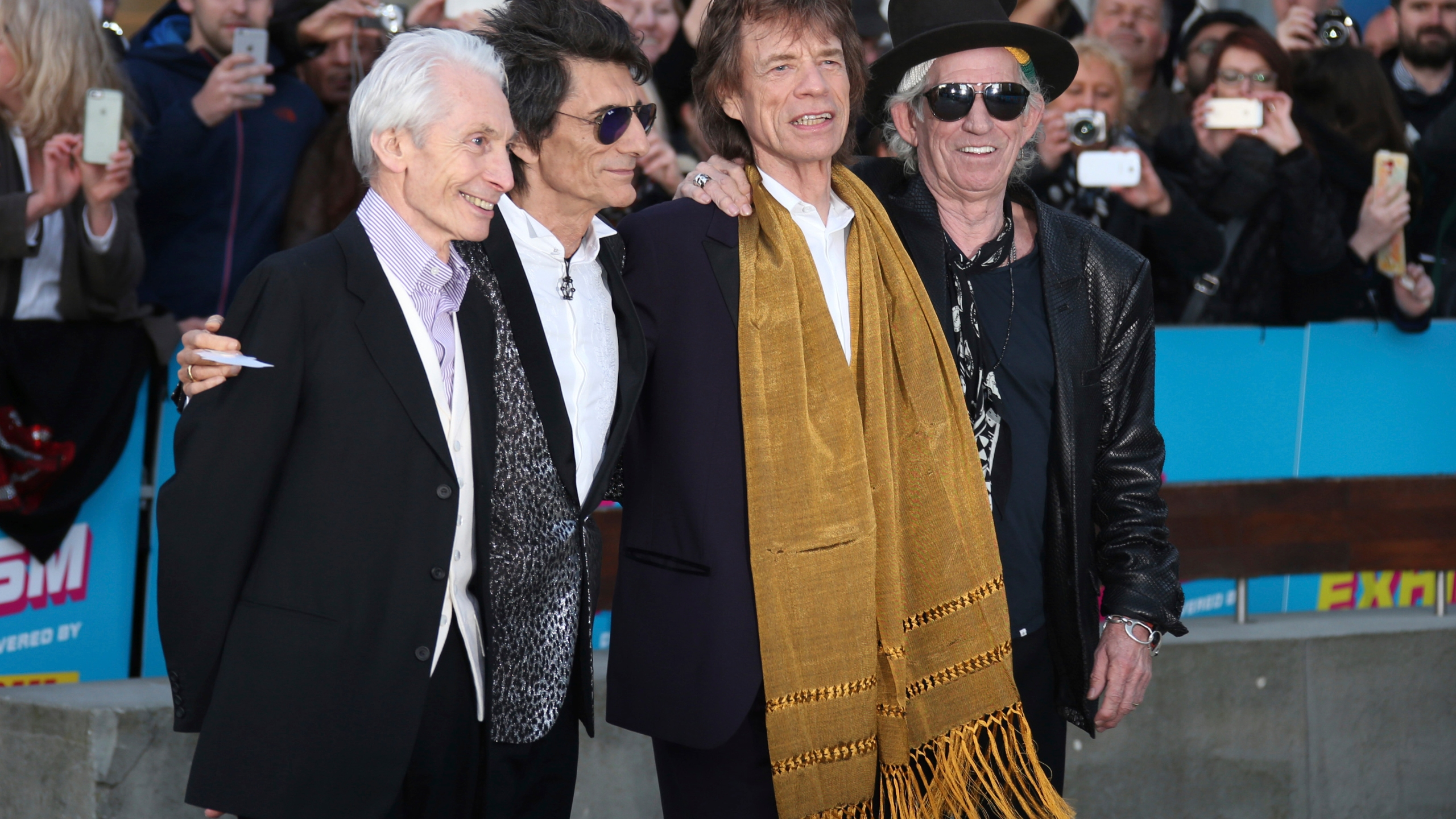 Charlie Watts, Ronnie Wood, Mick Jagger, Keith Richards