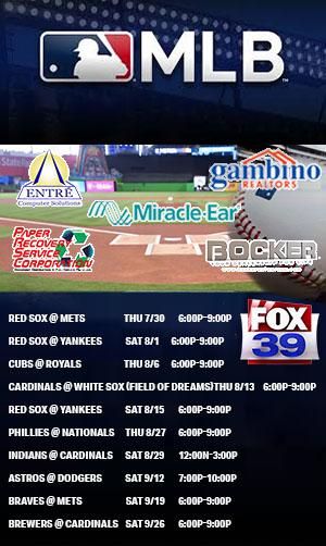 MLB Schedule