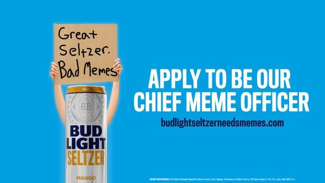 Bud Light Offering 5 000 A Month For Chief Meme Officer Mystateline Com