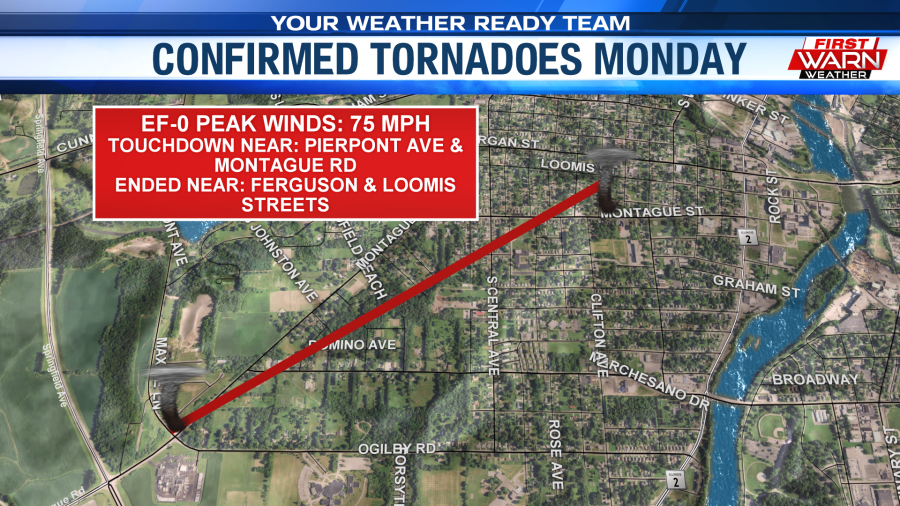 Several Tornadoes Confirmed Monday Afternoon Mystateline Com
