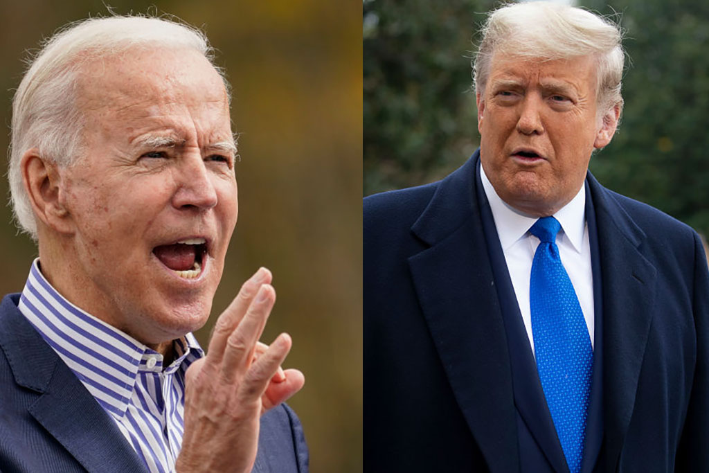 Pres. Trump, Biden campaign across the Midwest Friday ...