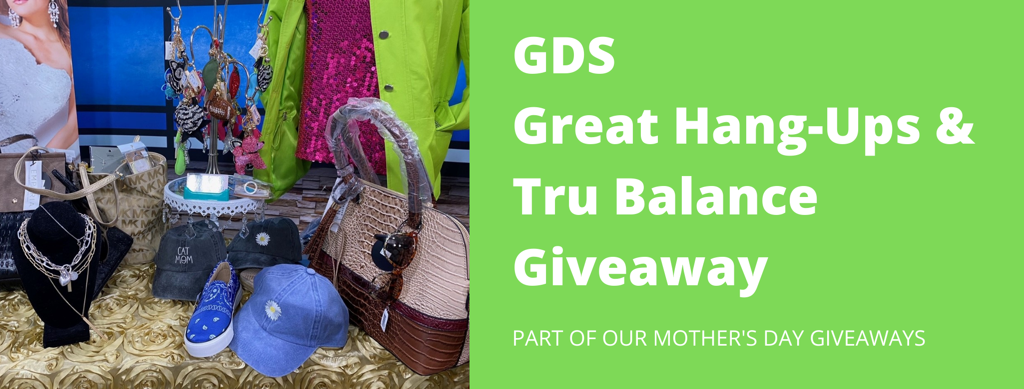GDS Great Hang-Ups & Tru Balance Giveaway