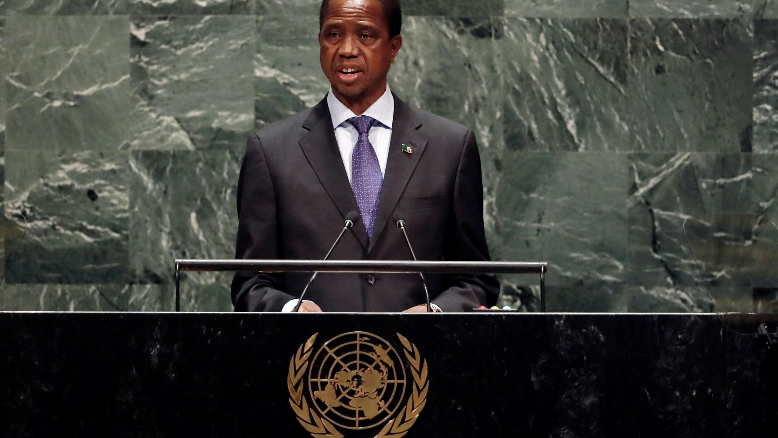 Edgar Chagwa Lungu