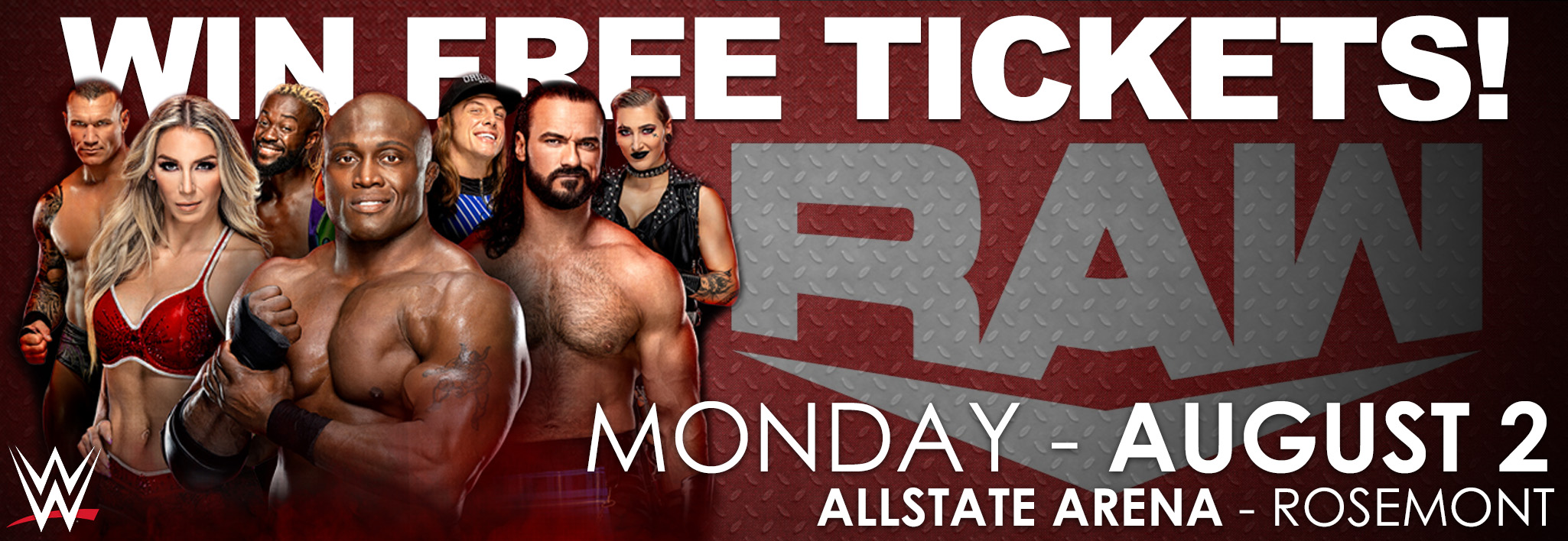 GDS WWE Ticket Giveaway