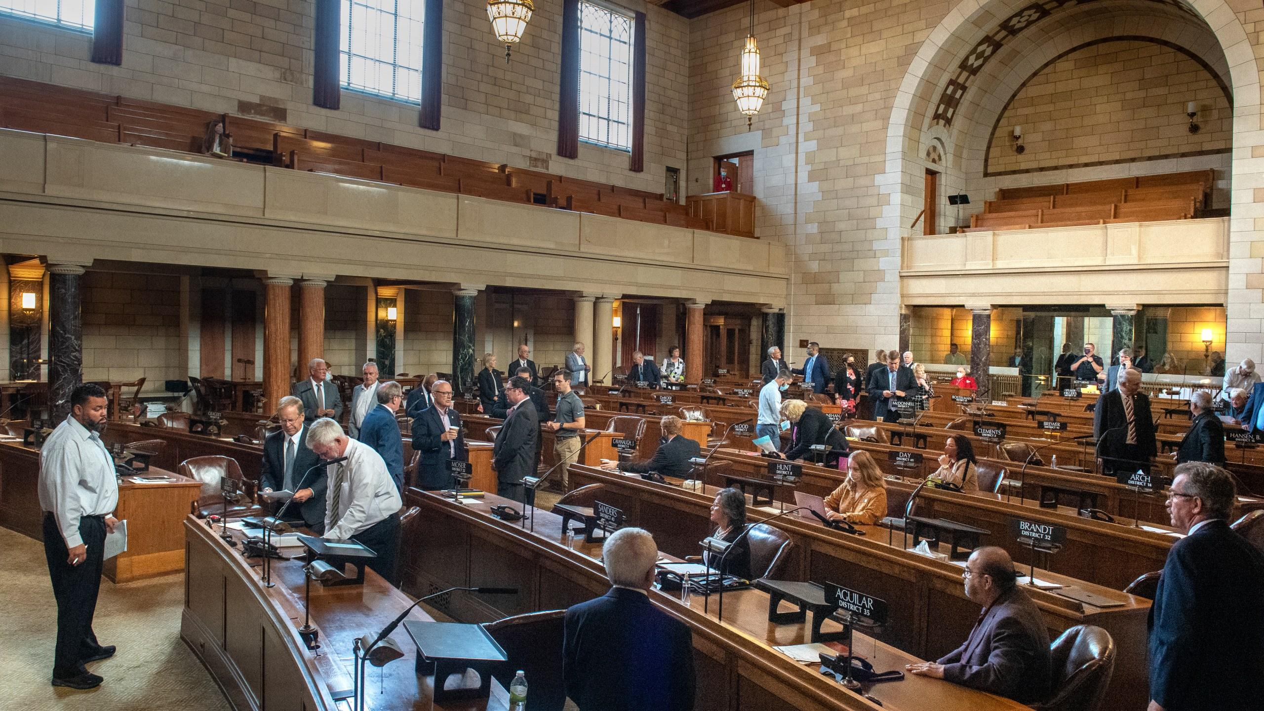 Nebraska Legislature Special Session