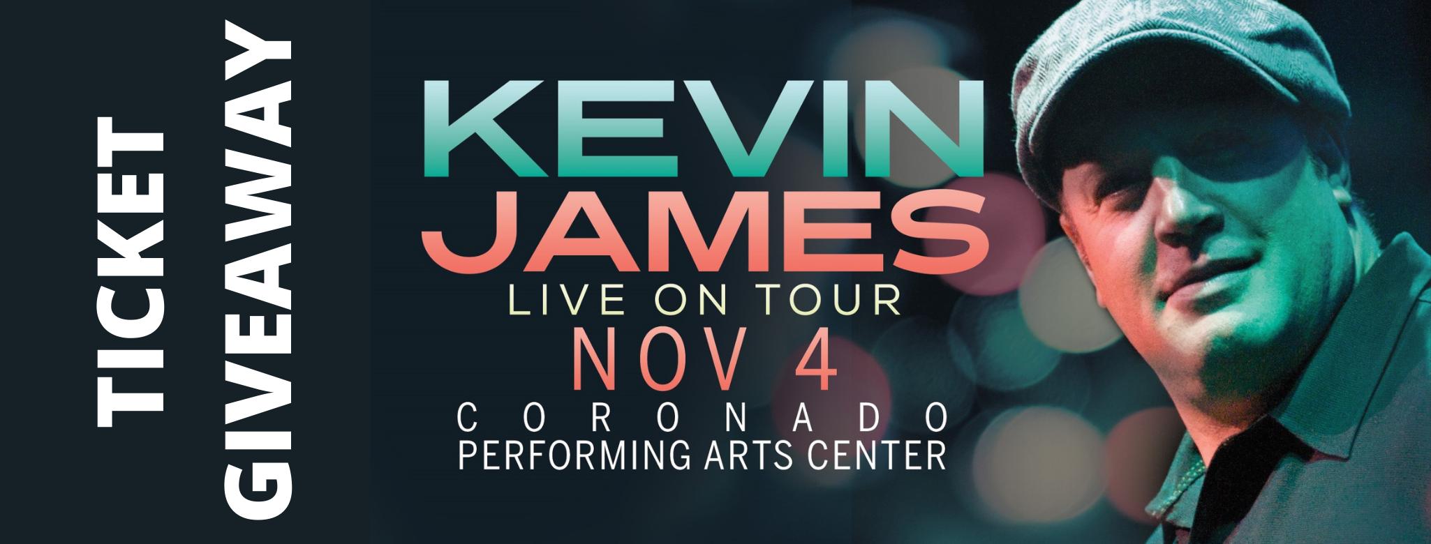 Kevin James Ticket Giveaway